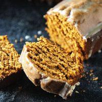Bourbon Brown Butter Gingerbread Cake