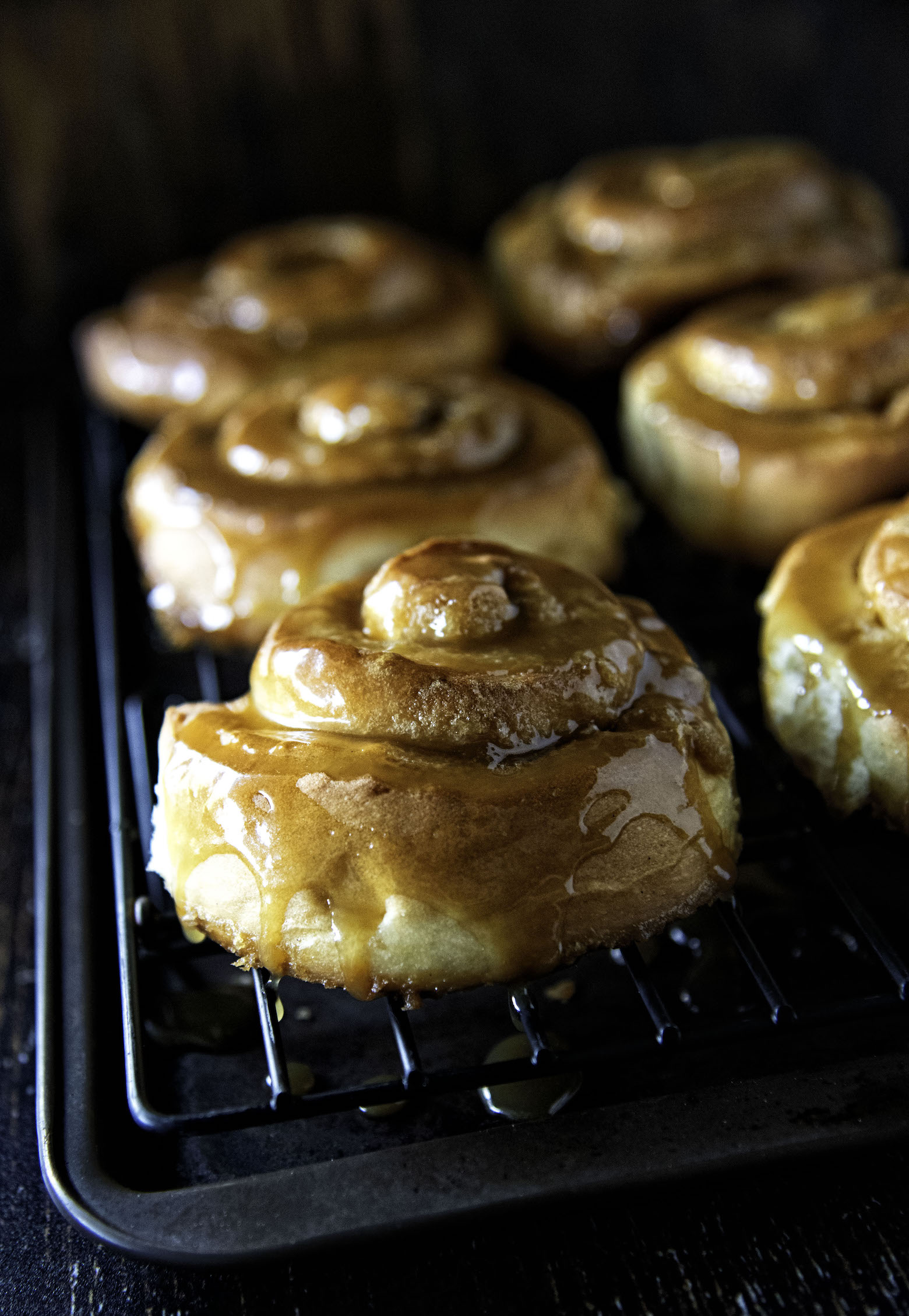 Bourbon Butterscotch Sweet Rolls