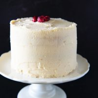Cranberry Orange Layer Cake