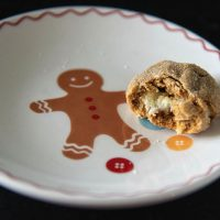 Gingerbread Lemon Cream Cheese Cookies