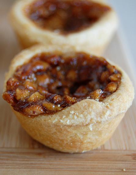Mini Pecan Pies (or Pecan Tassies)