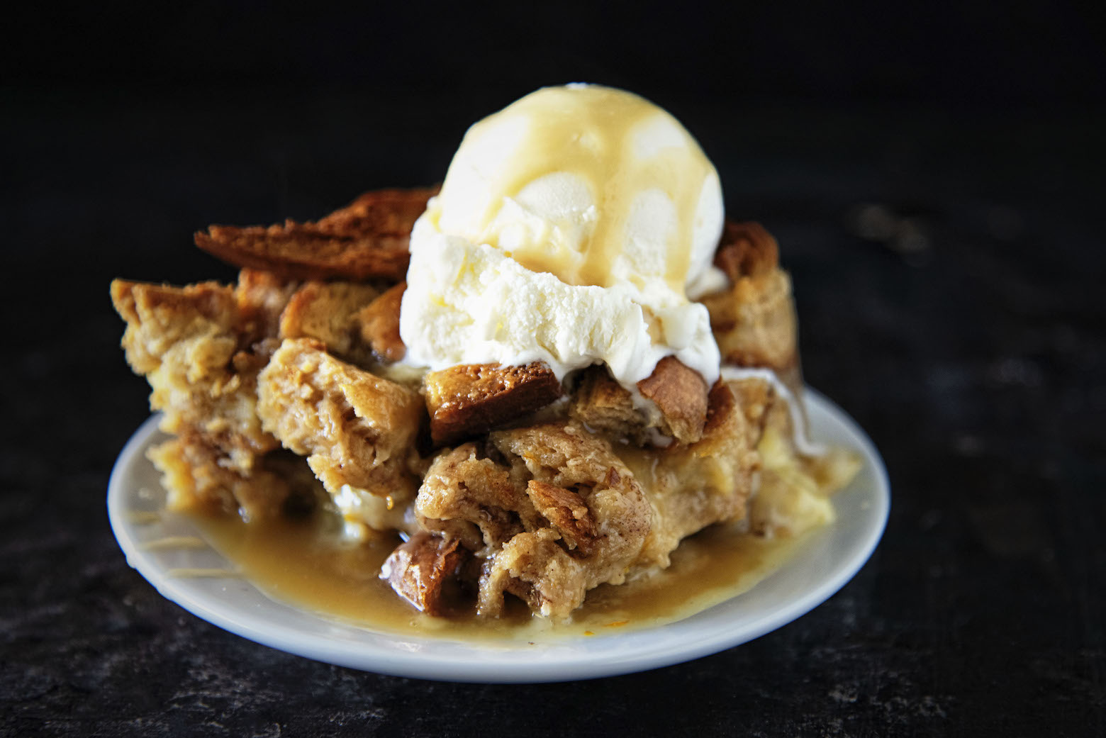 Molasses Spice Orange Bread Pudding