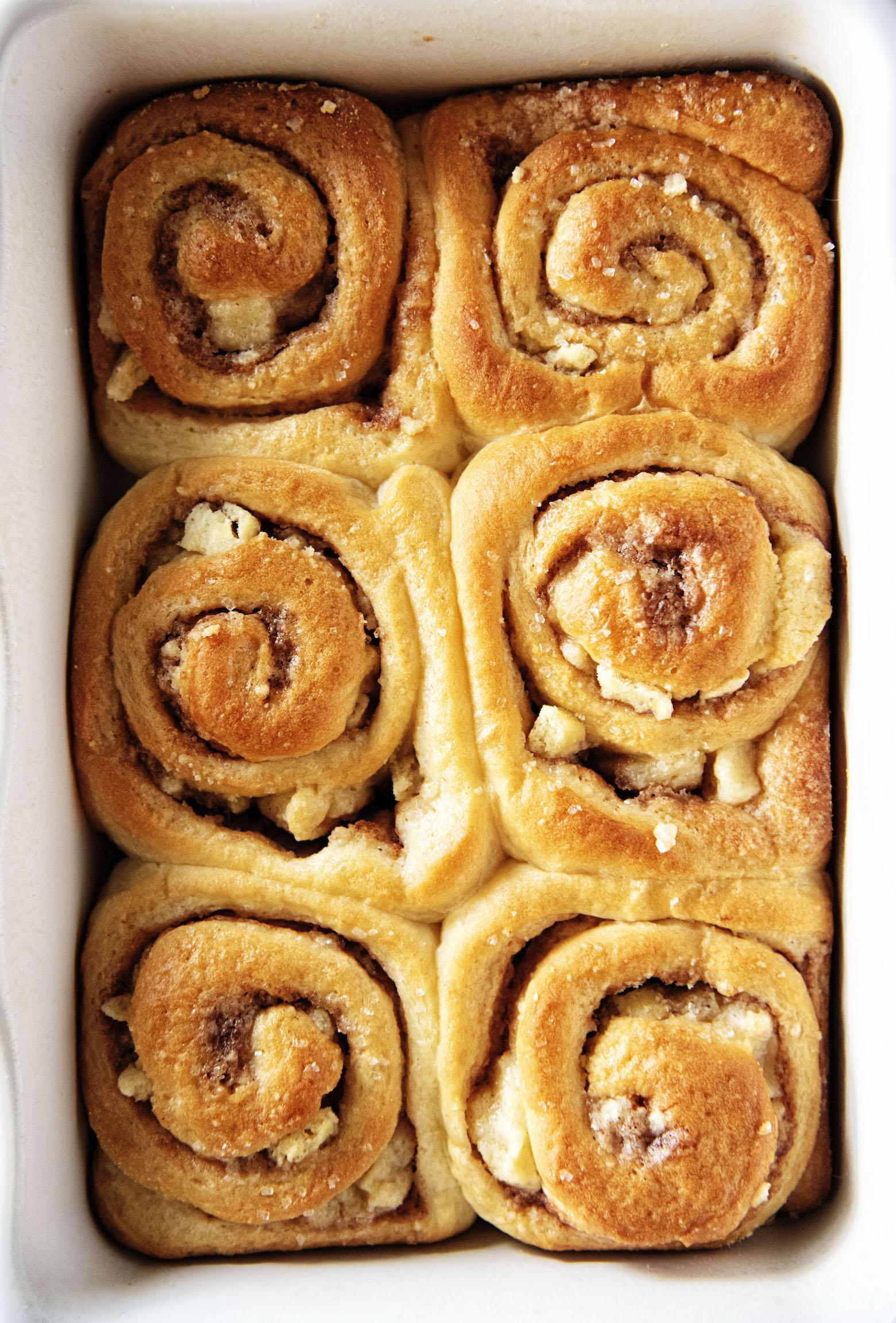 Sugar Cookie Cinnamon Rolls