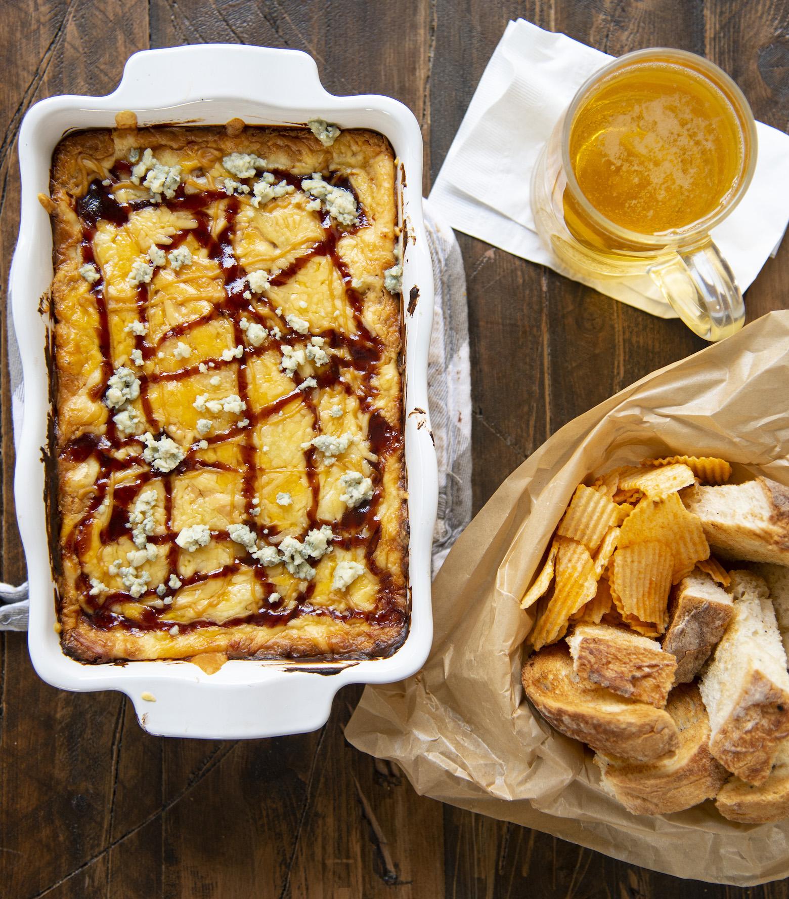Blue Cheese BBQ Gouda Cheese Dip