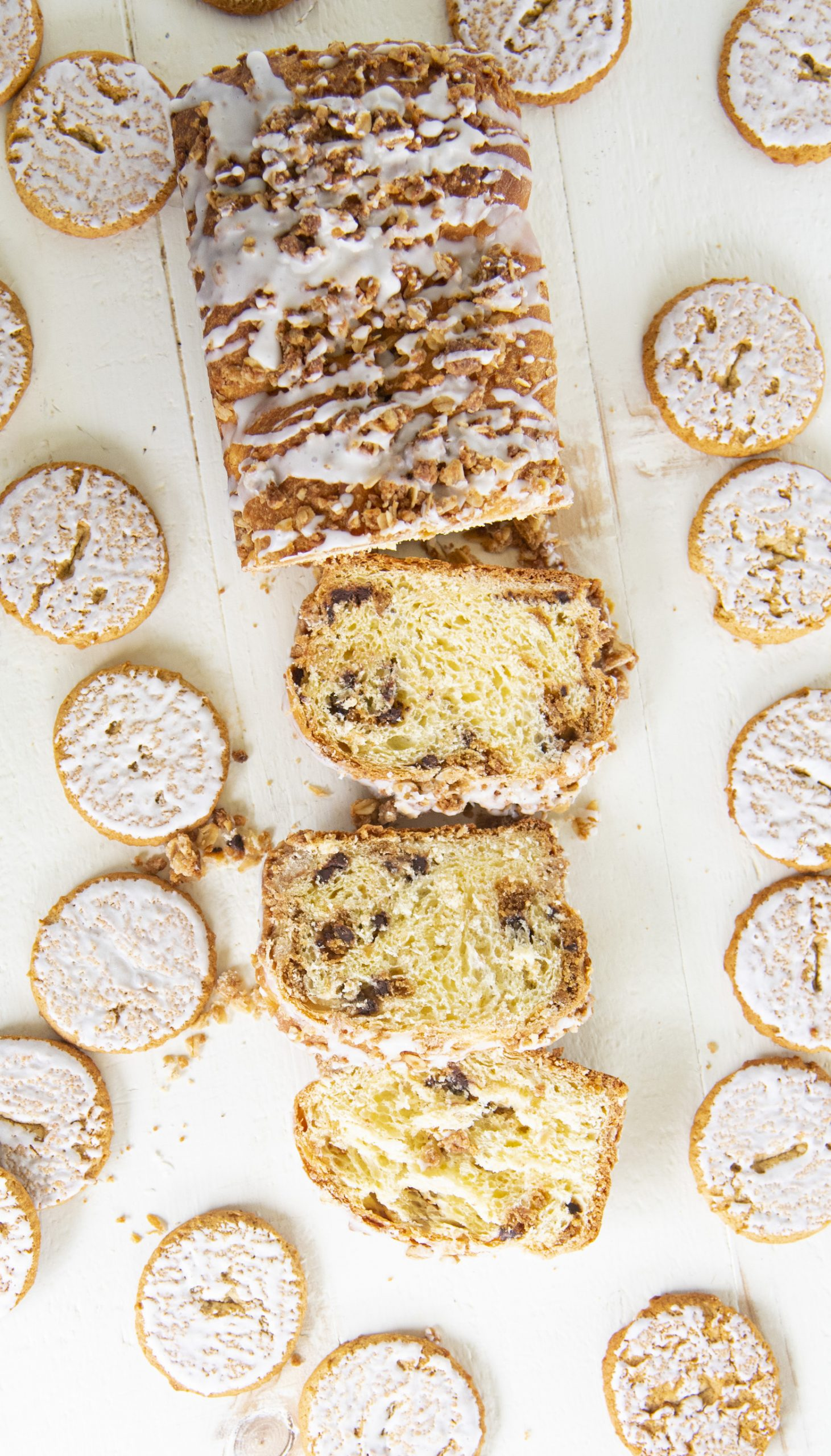 Oatmeal Chocolate Chip Cookie Babka