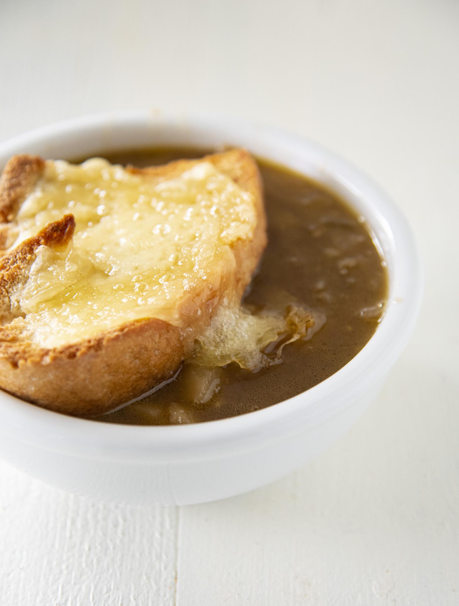 Caramelized Onion Potato Ale Soup