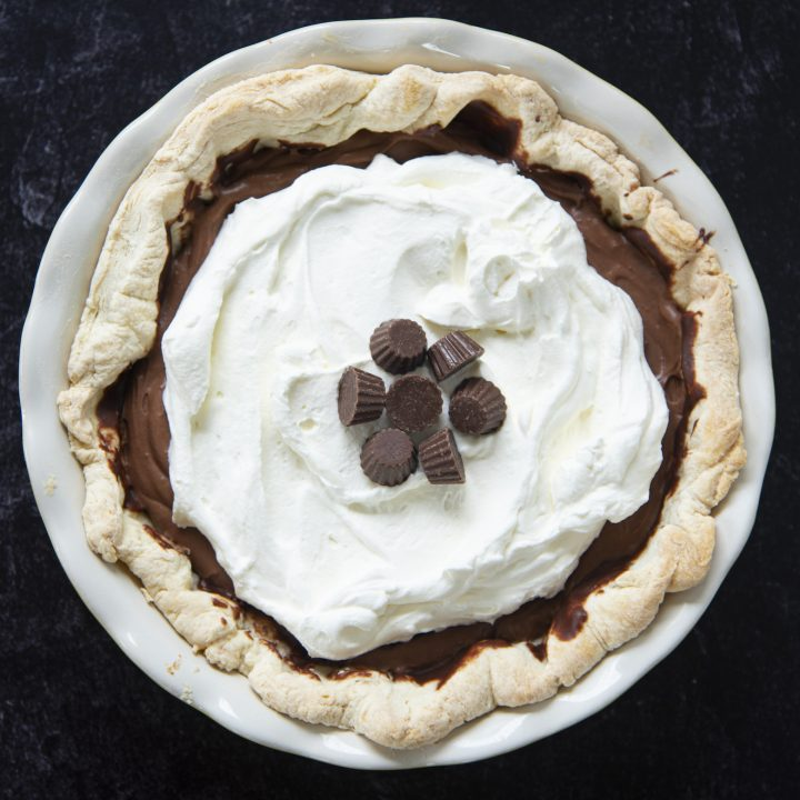 Peanut Butter Cup Cream Pie