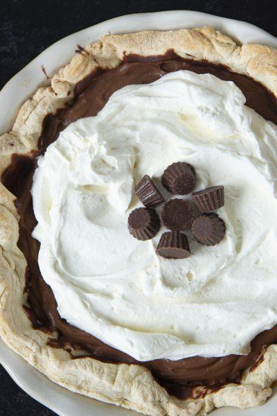Peanut Butter Cup Cream Pie