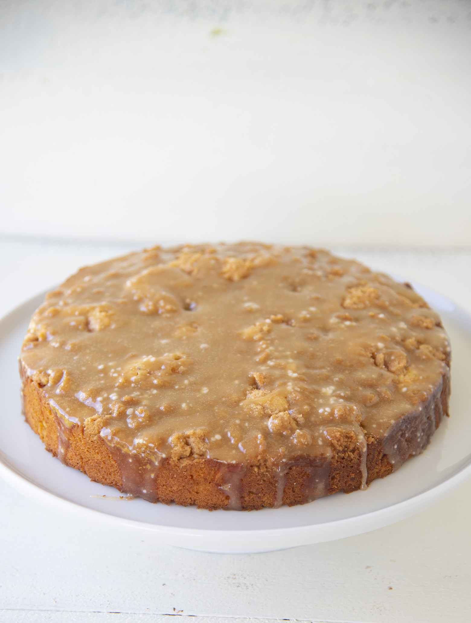 Crumb Topped Carrot Coffee Cake