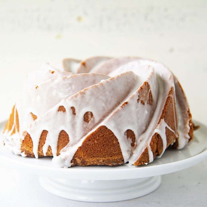 Lemon Limoncello Pound Cake