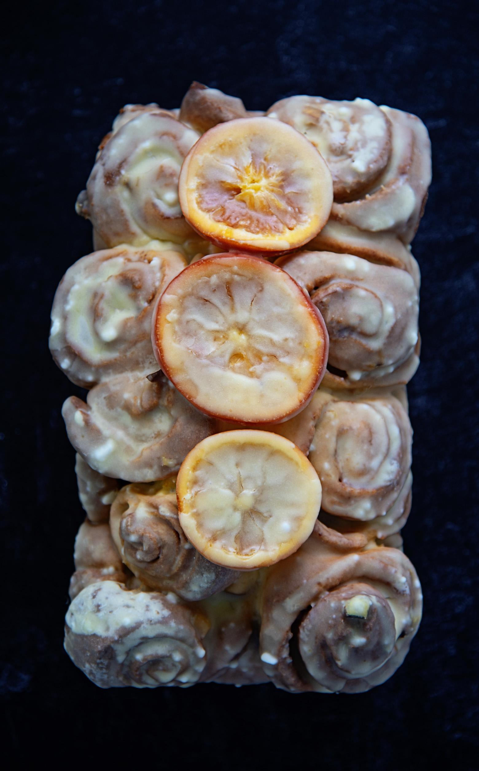 Glazed Orange Roll Loaf