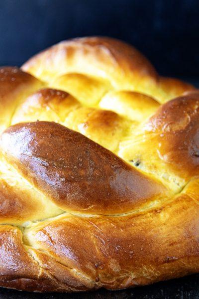 Orange Blossom Chocolate Challah Bread