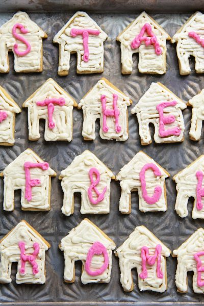 Roll Out Shortbread Sugar Cookies