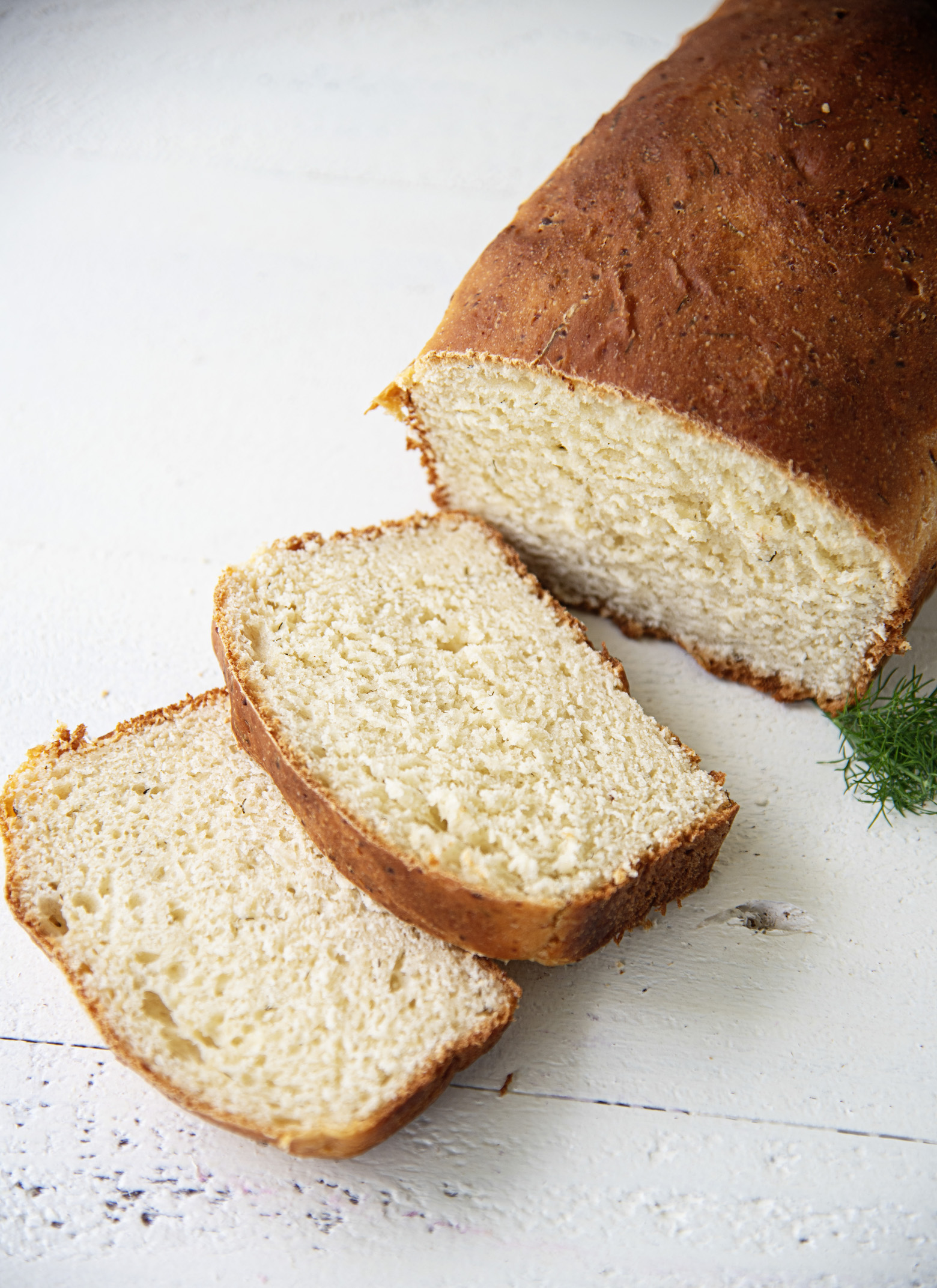 Feta Cheese Dill Bread Loaf