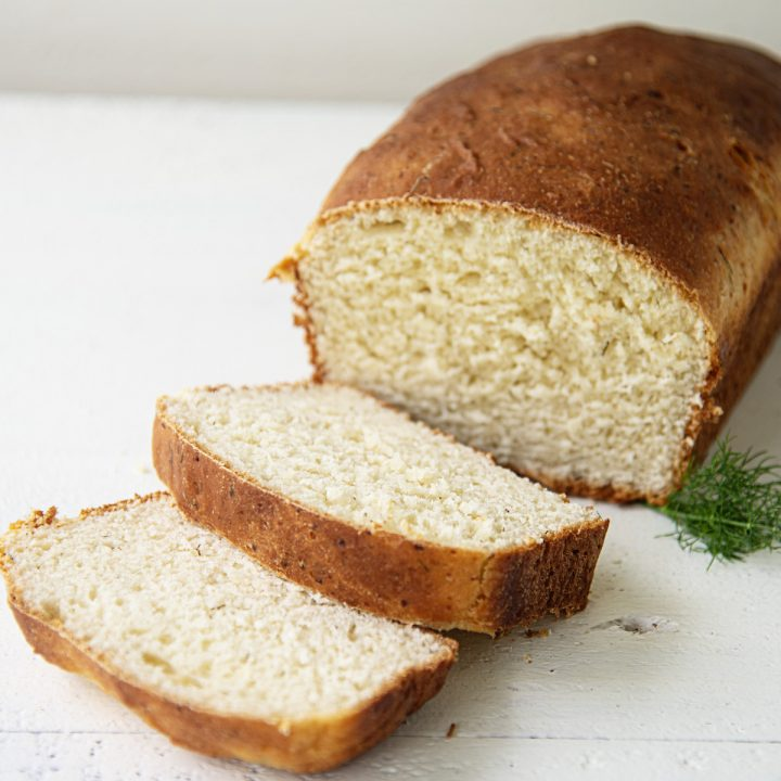 Feta Cheese Dill Loaf Bread