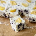 Lemon Blueberry Mascarpone Fudge