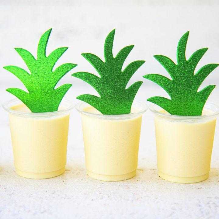 Dole Whip Pineapple Jell-O Shots