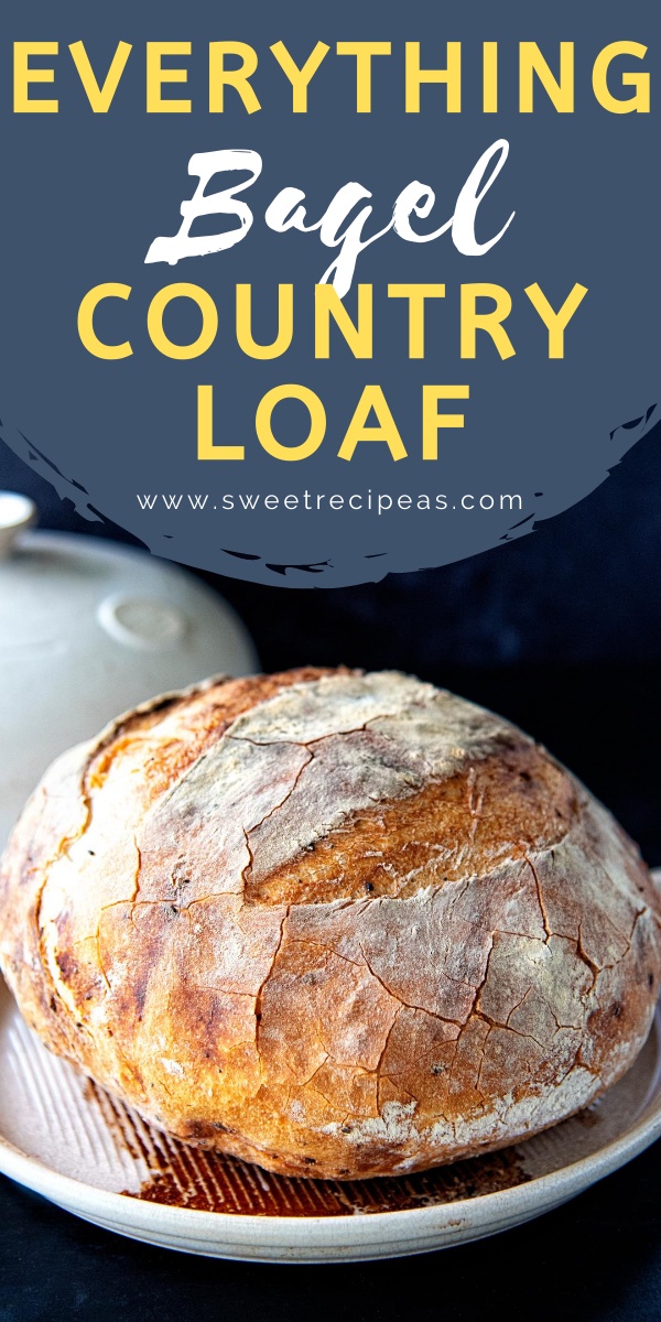 Everything Bagel Country Loaf