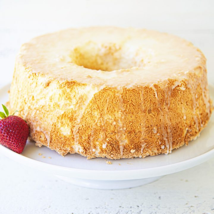 Key Lime Angel Food Cake