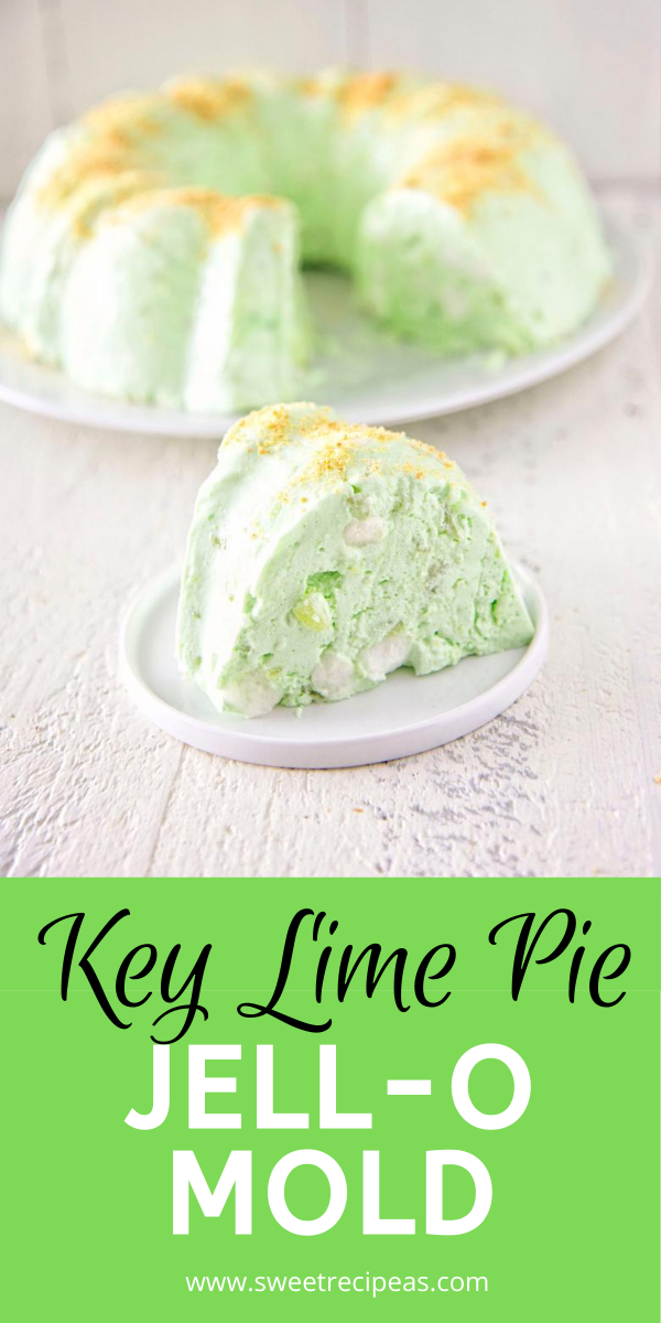Key Lime Pie Jell-O Mold