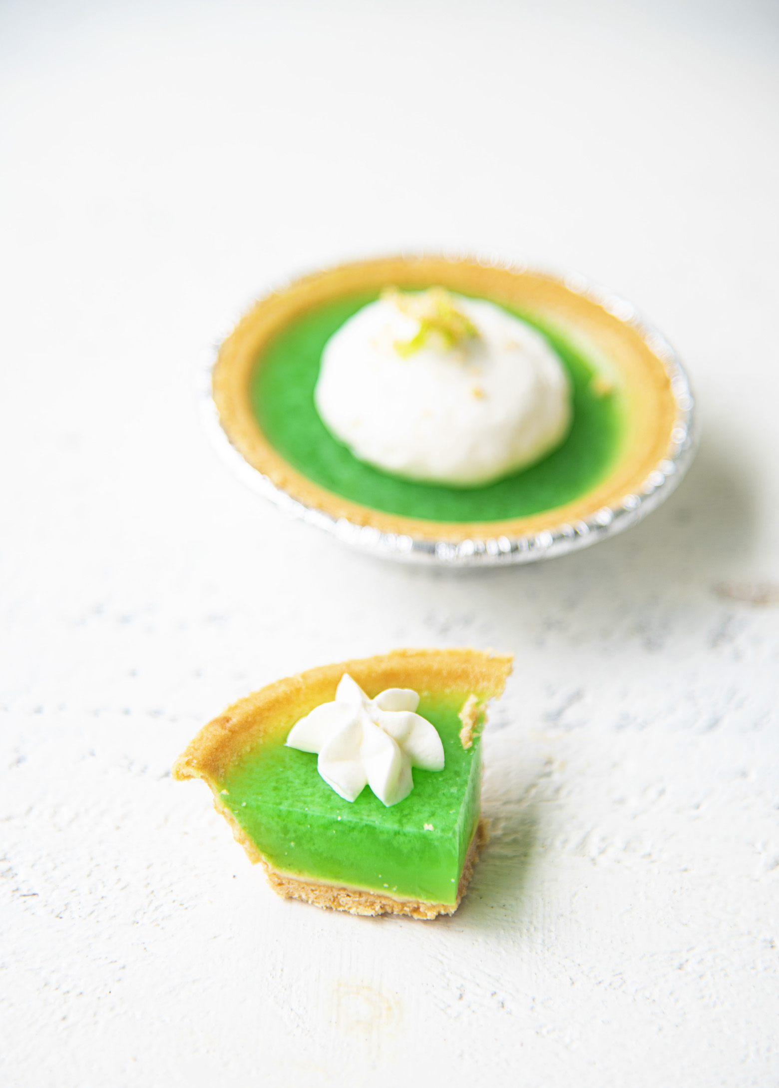 Key Lime Pie Jell-O Shots
