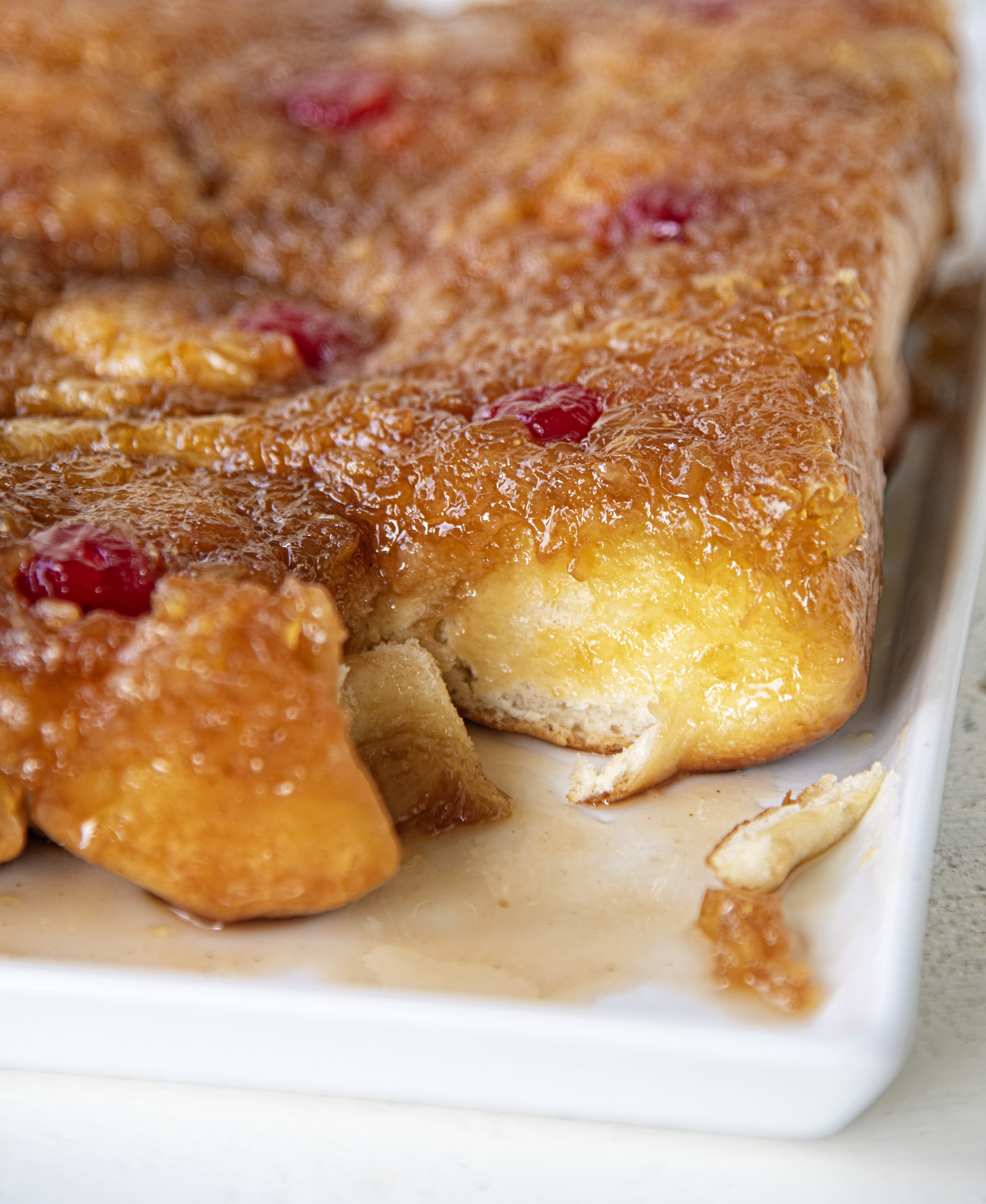 Pineapple Upside Down Sticky Buns