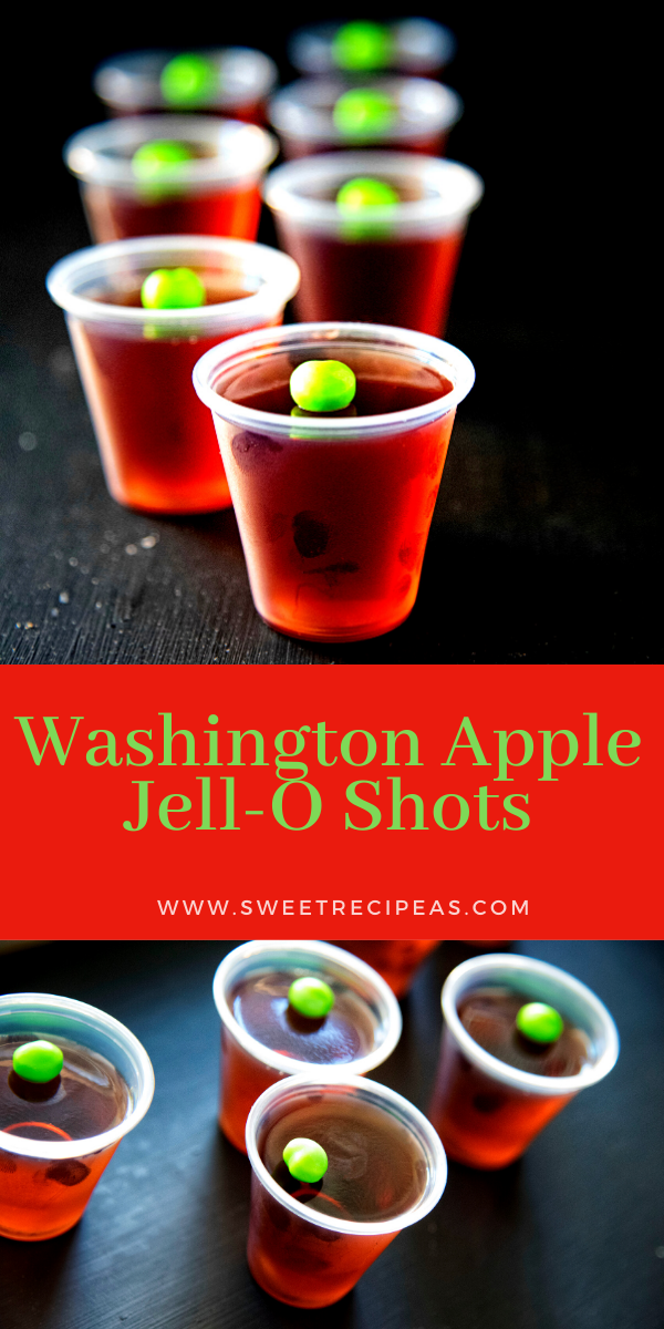 Washington Apple Jell-O Shots