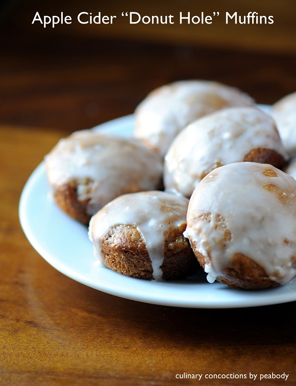 Apple Cider Donut Hole Muffins