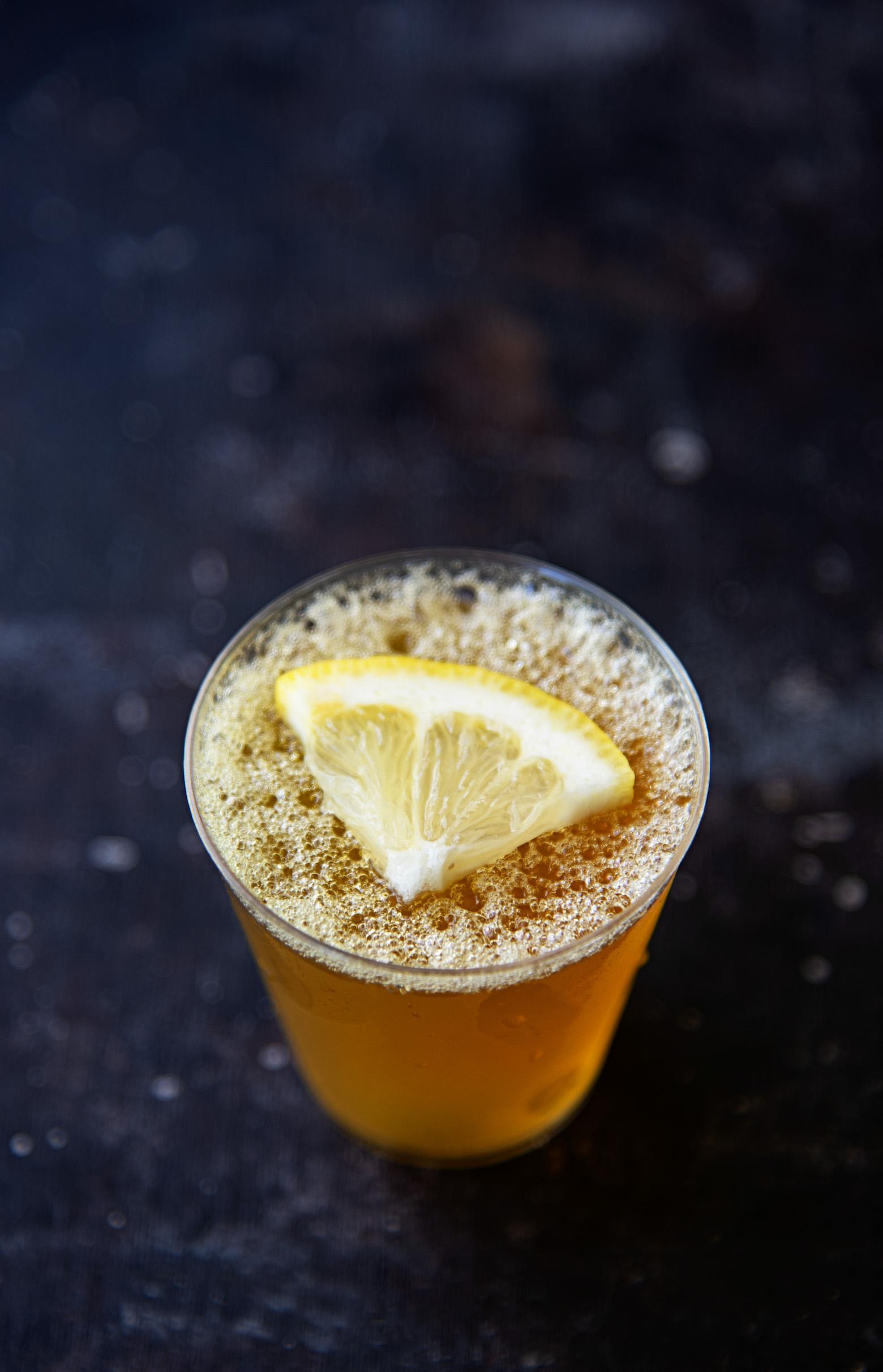 Boozy Arnold Palmer Jell-O Shots