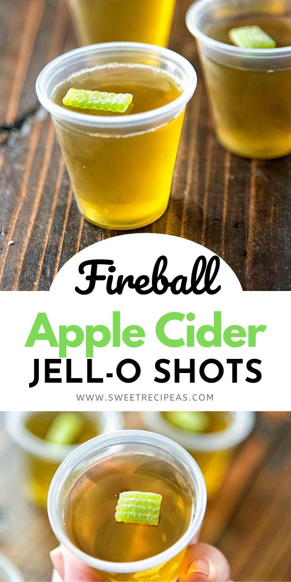 Fireball Apple Cider Jell-O Shots