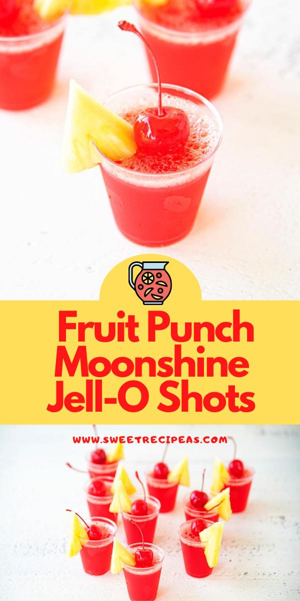 Fruit Punch Moonshine Jell-O Shots