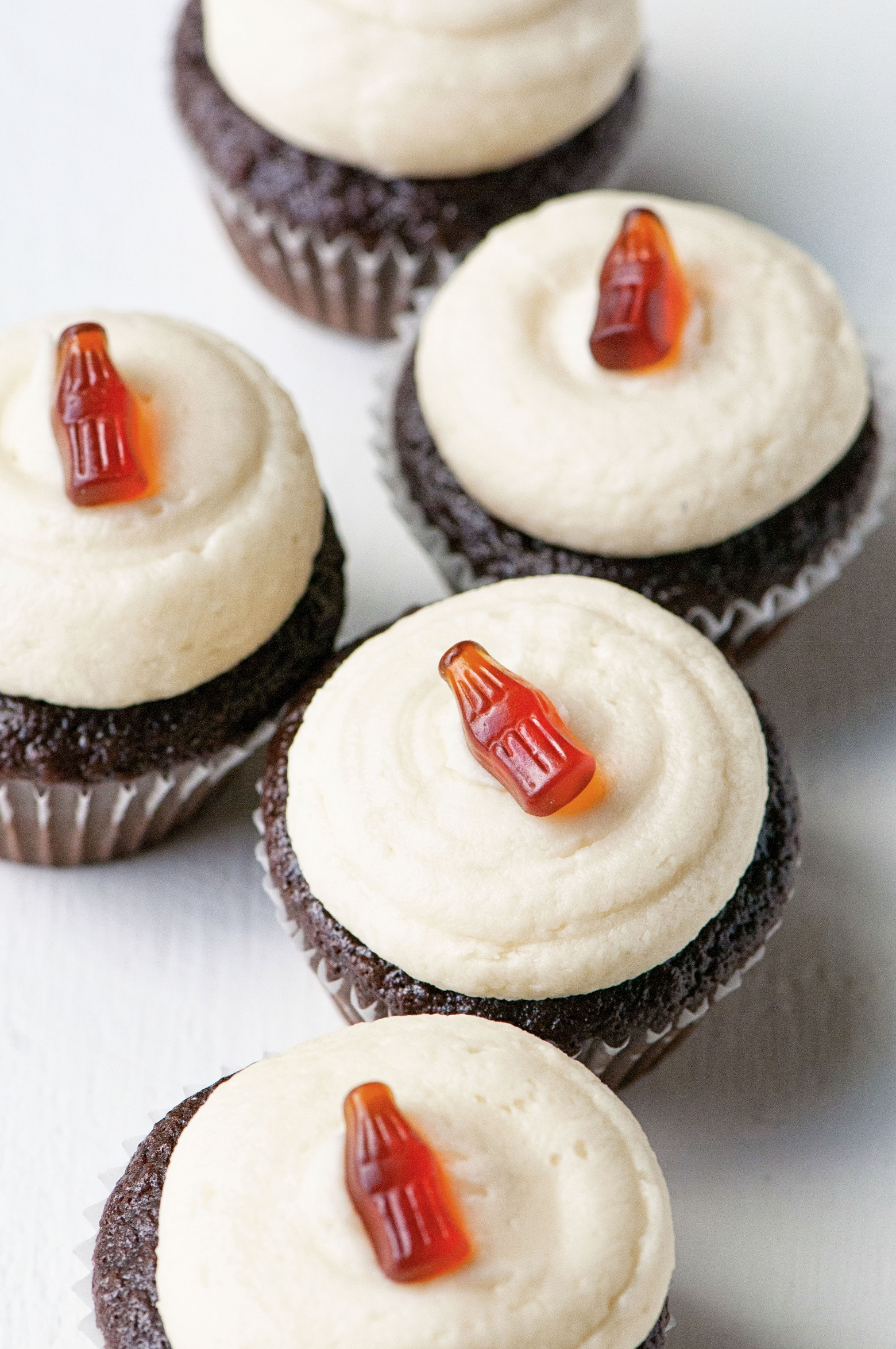 Jack and Coke Chocolate Cupcakes