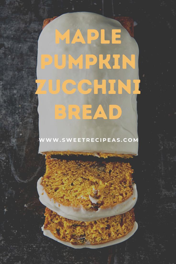 Maple Pumpkin Zucchini Bread