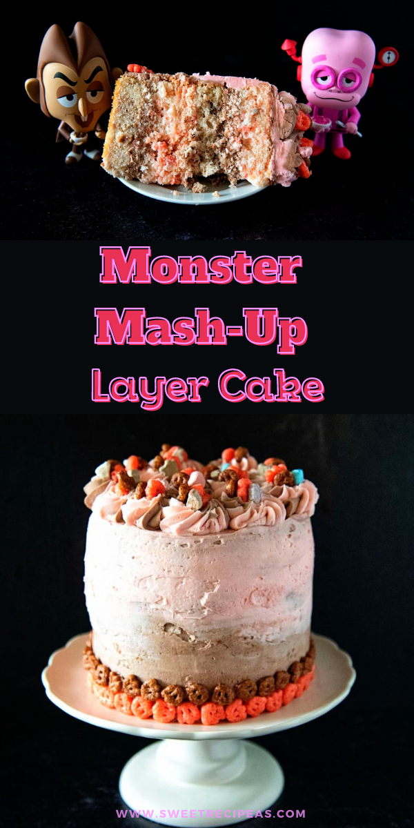Monster Mash-Up Layer Cake