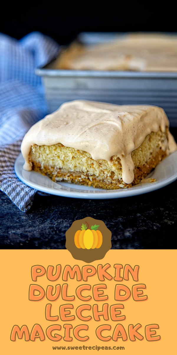 Pumpkin Dulce de Leche Magic Cake