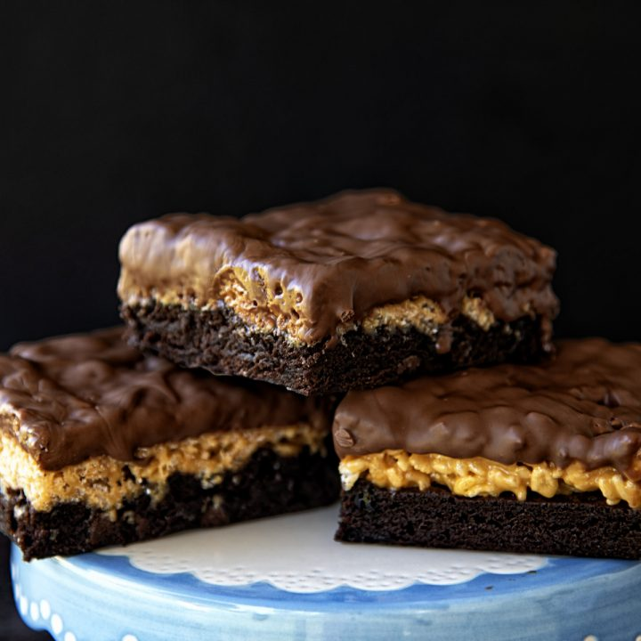 Star Crunch Brownies