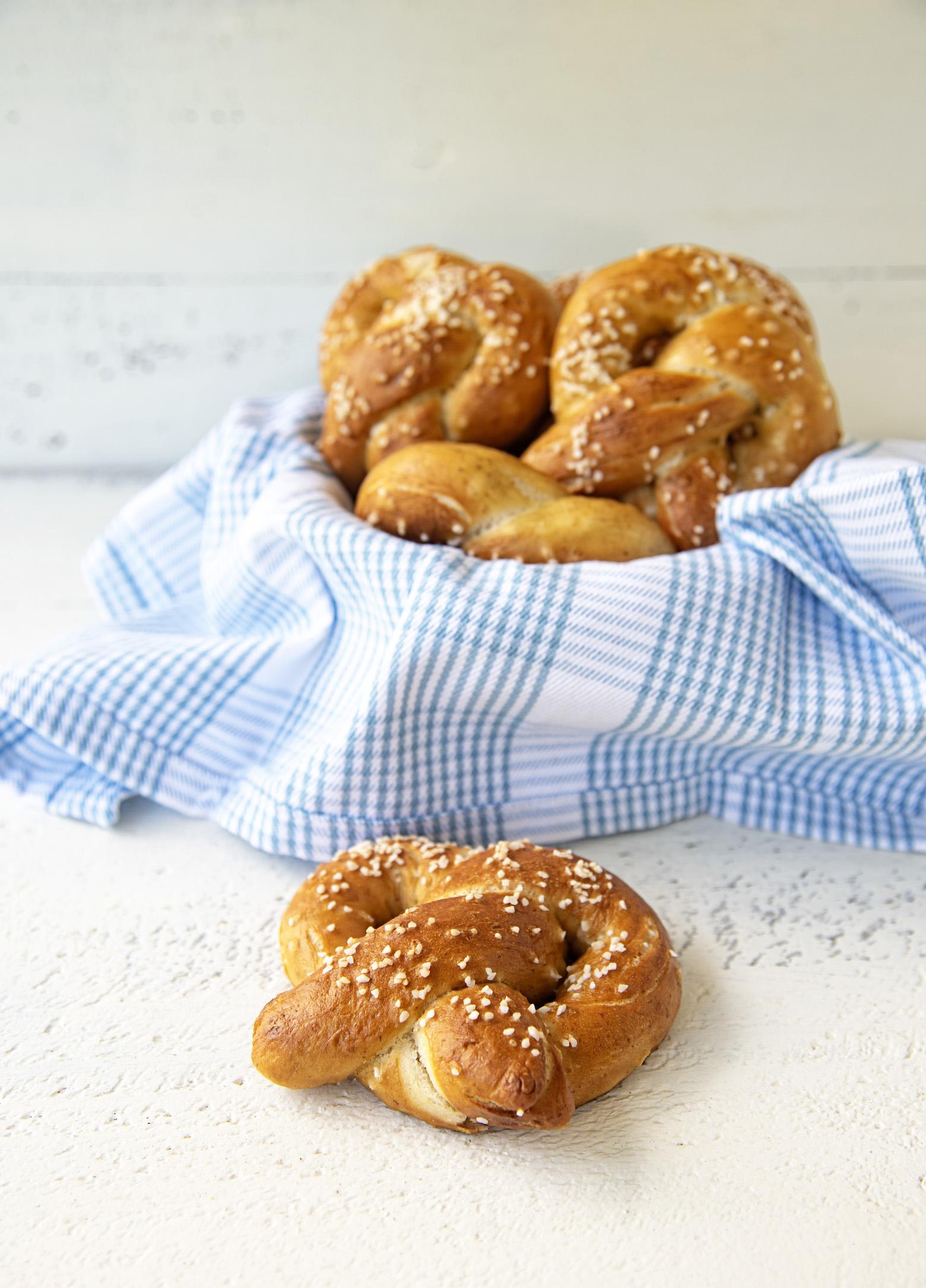 Basic Salted Soft Pretzels