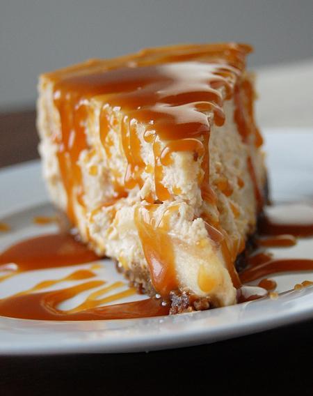 Brown Sugar Apple Cheesecake