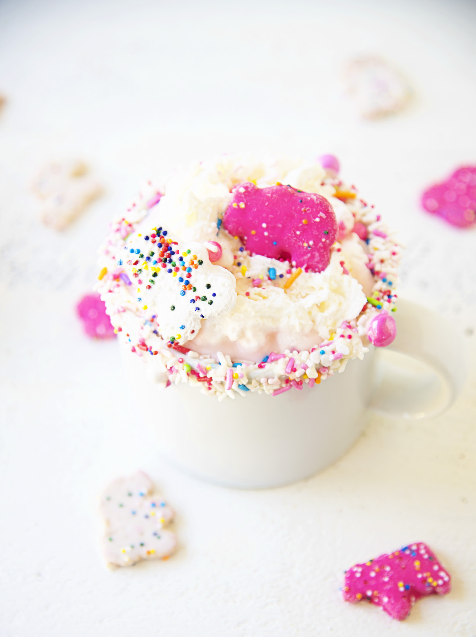 Circus Animal Cookie Hot Chocolate