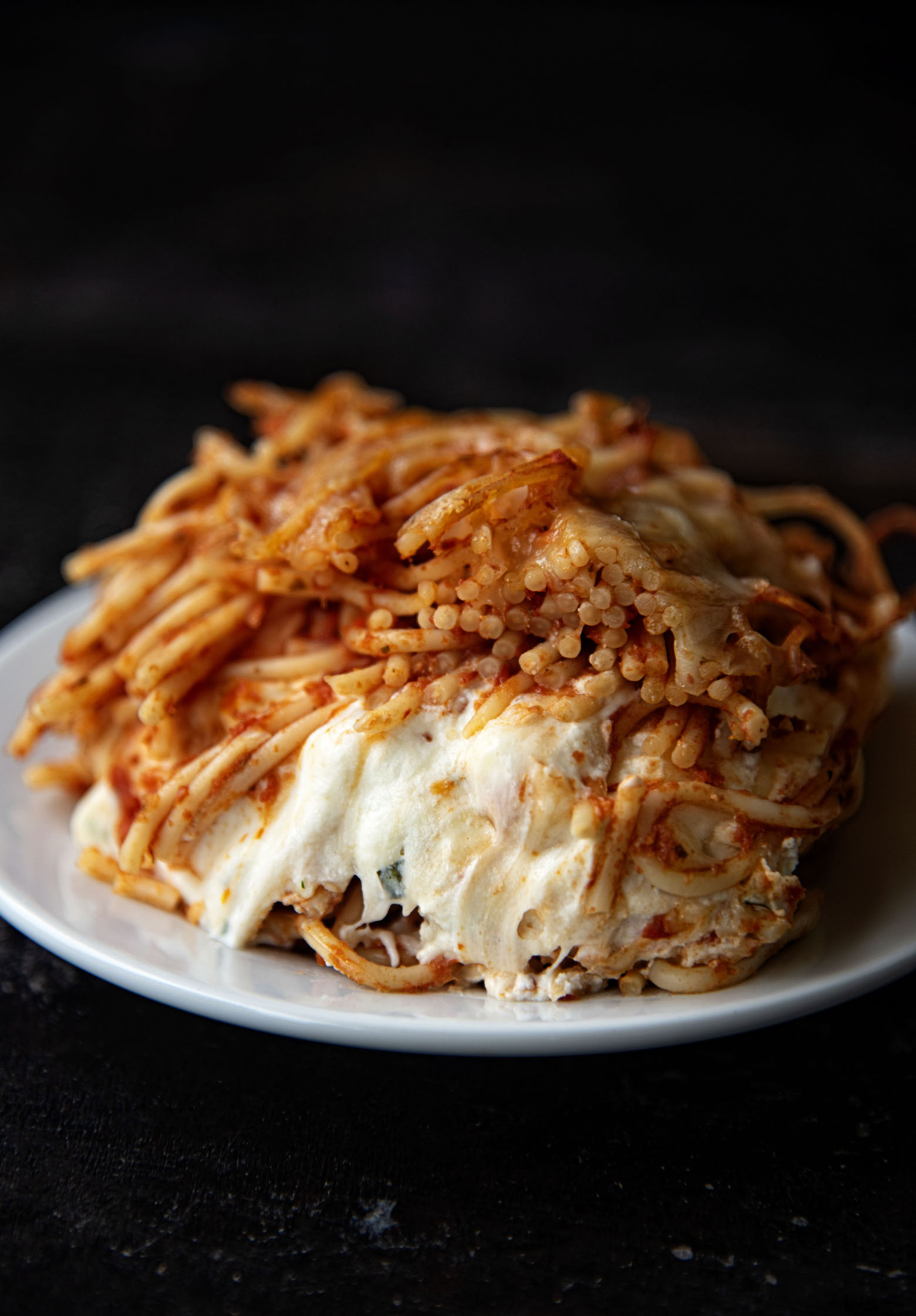 Easy Baked Spaghetti Casserole