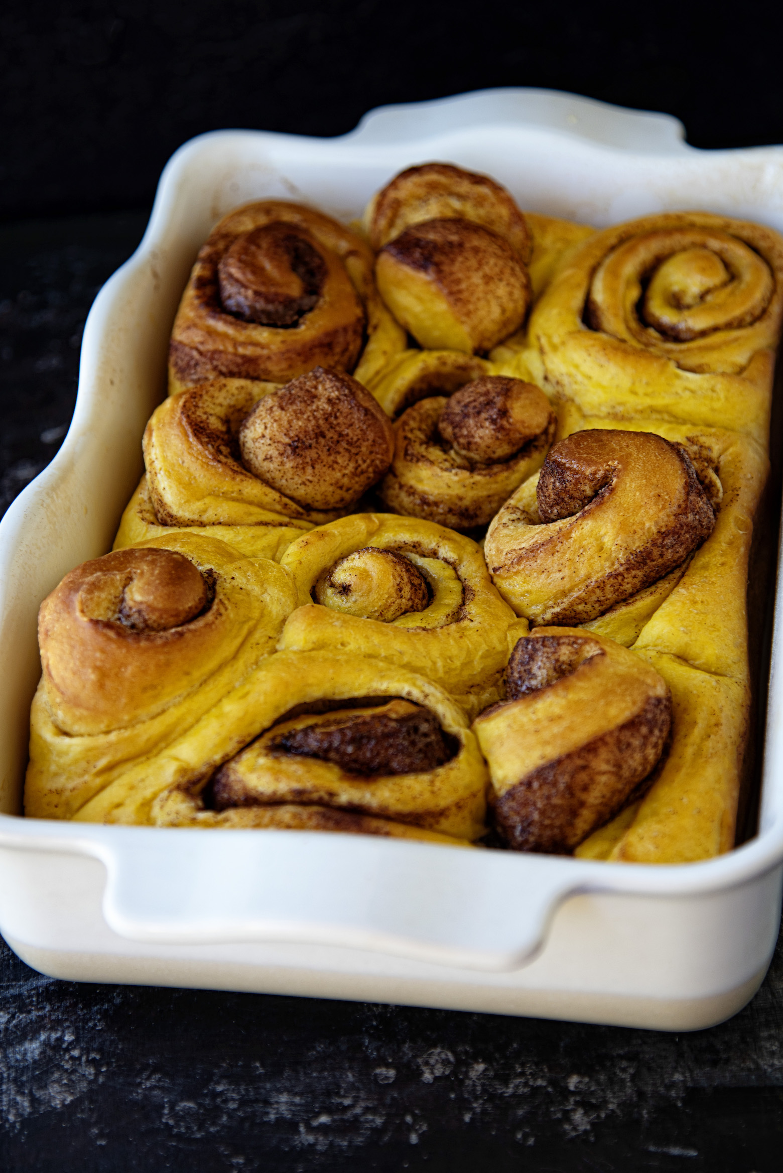 Fireball Whiskey Pumpkin Cinnamon Rolls