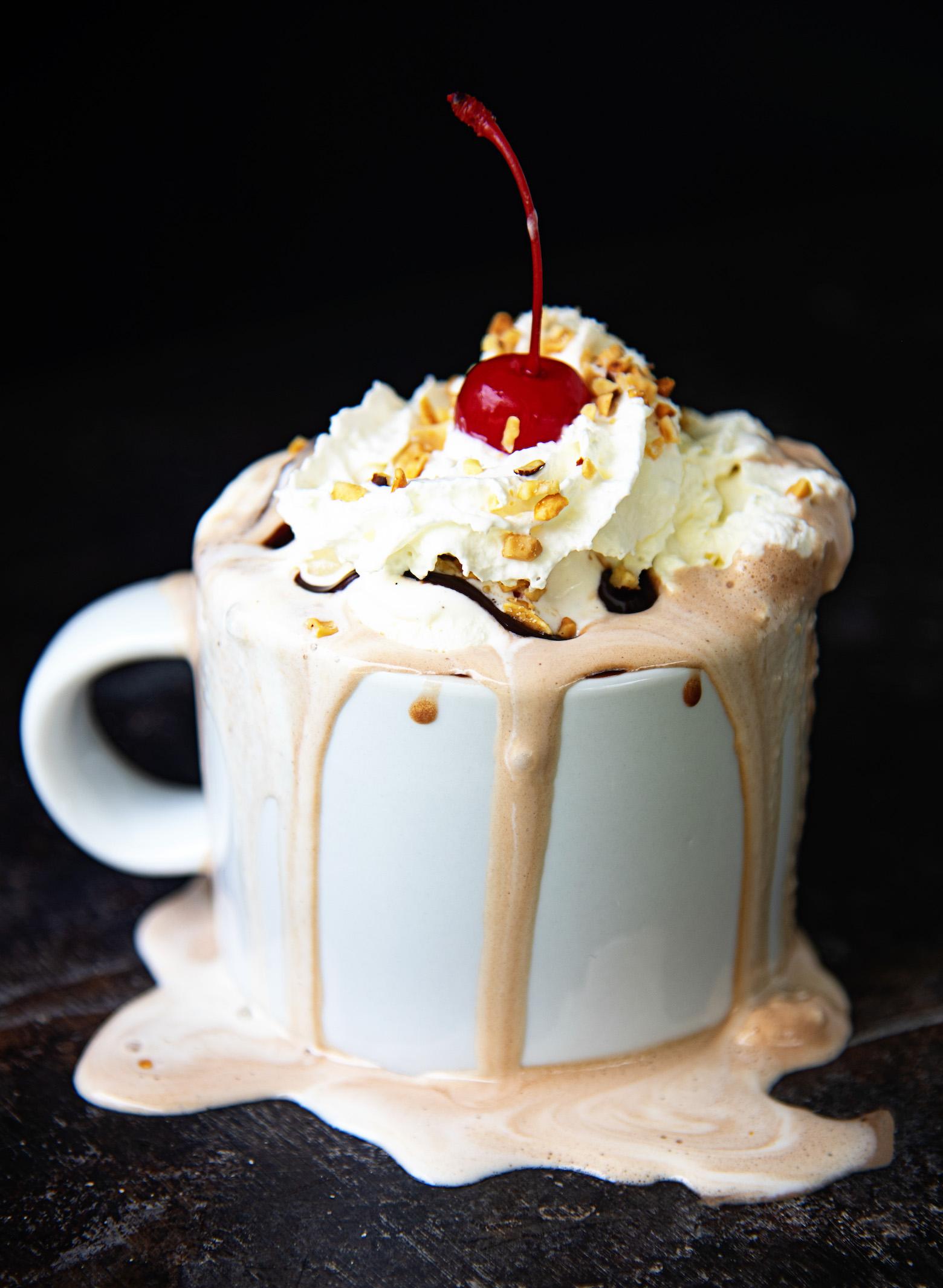 Hot Fudge Sundae Hot Chocolate
