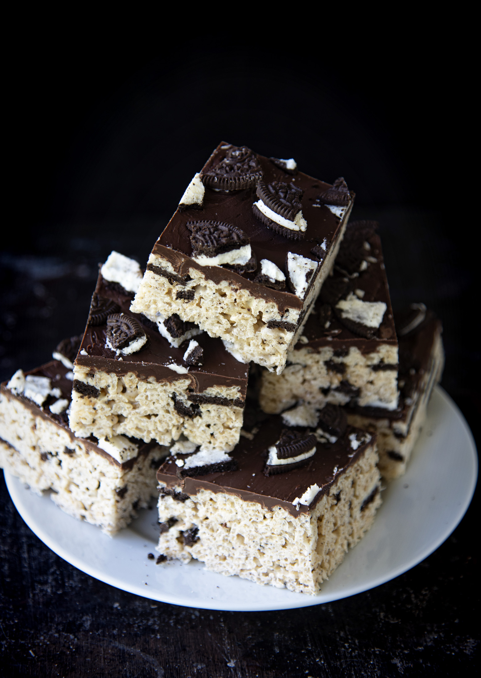Cookies and Cream Rice Krispie Treats