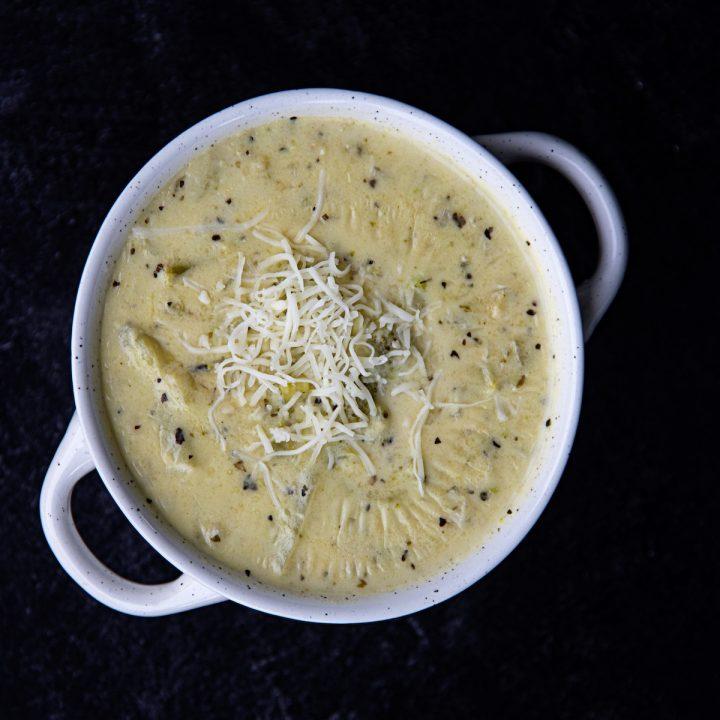 Easy Italian Broccoli Cheese Soup