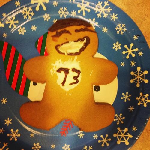 Gingerbread Sheldon