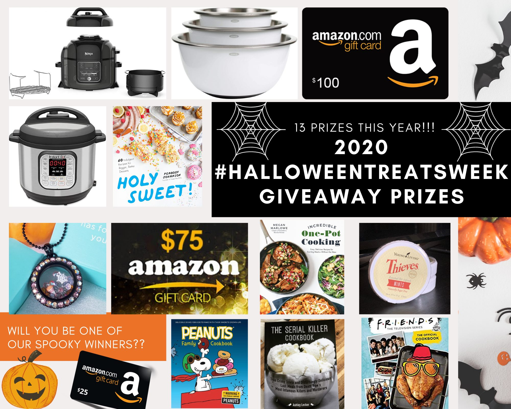 Halloween Treats Week Giveaway