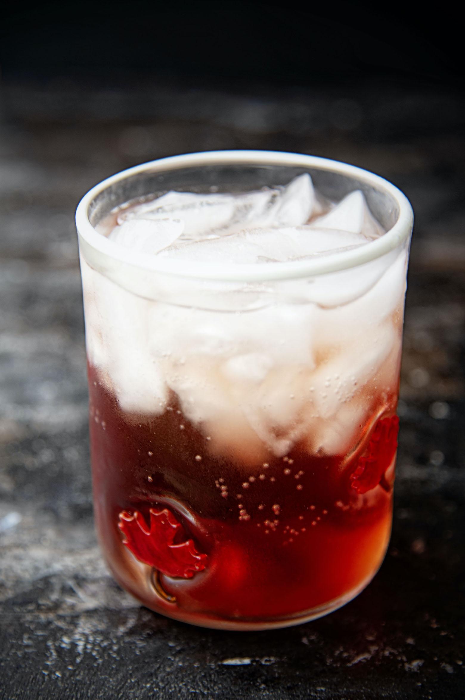 Spiced Washington Apple Cocktail