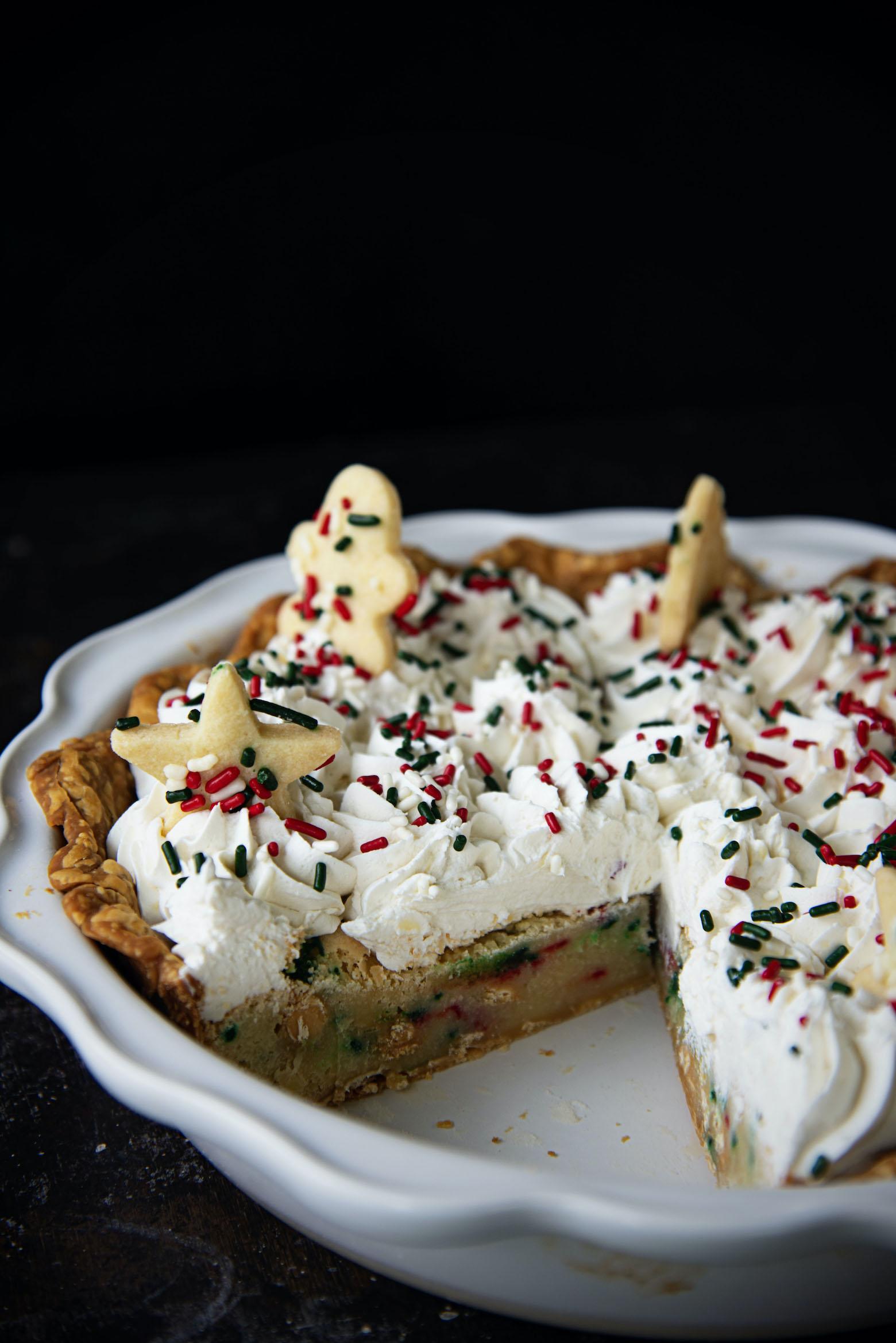 Sugar Cookie Sprinkle Pie