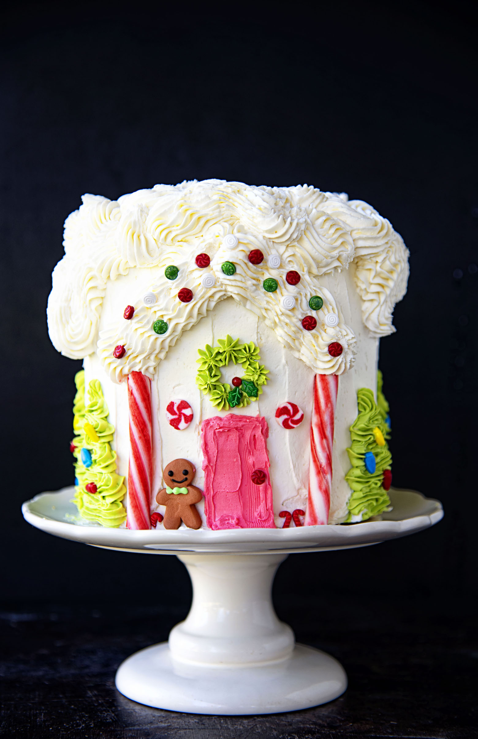 Gingerbread House Gingerbread Layer Cake