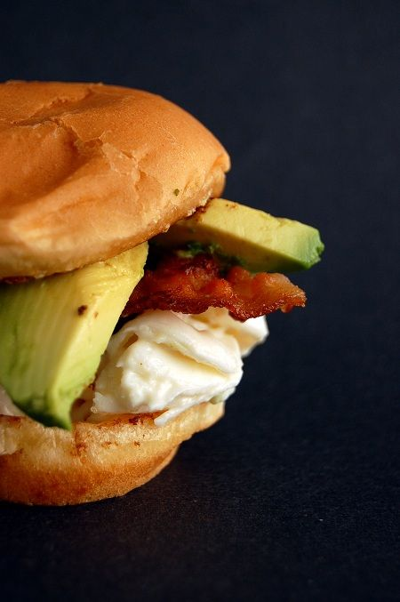 Mini Lobster Roll Sliders with Bacon and Avocado